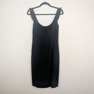 J. Crew Black Silk Cocktail Dress     •  H19-Dr